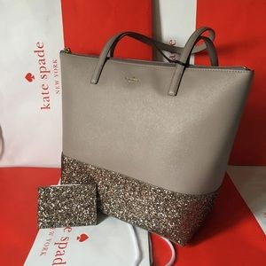 Brand New Kate Spade Handbag Set